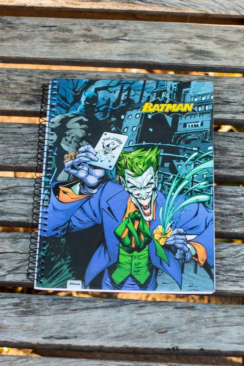 Caderno Batman The Joker 1 Matéria