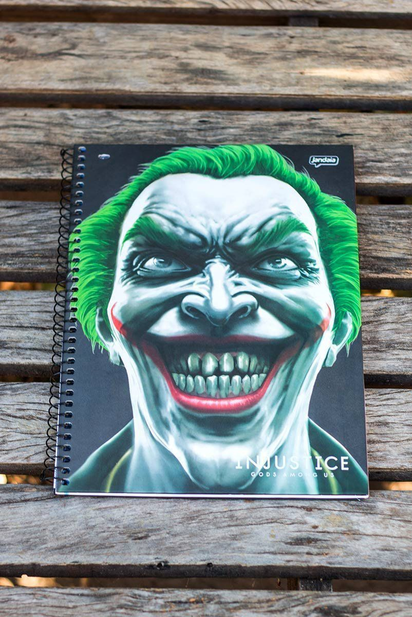 Caderno Injustice The Joker 1 Matéria