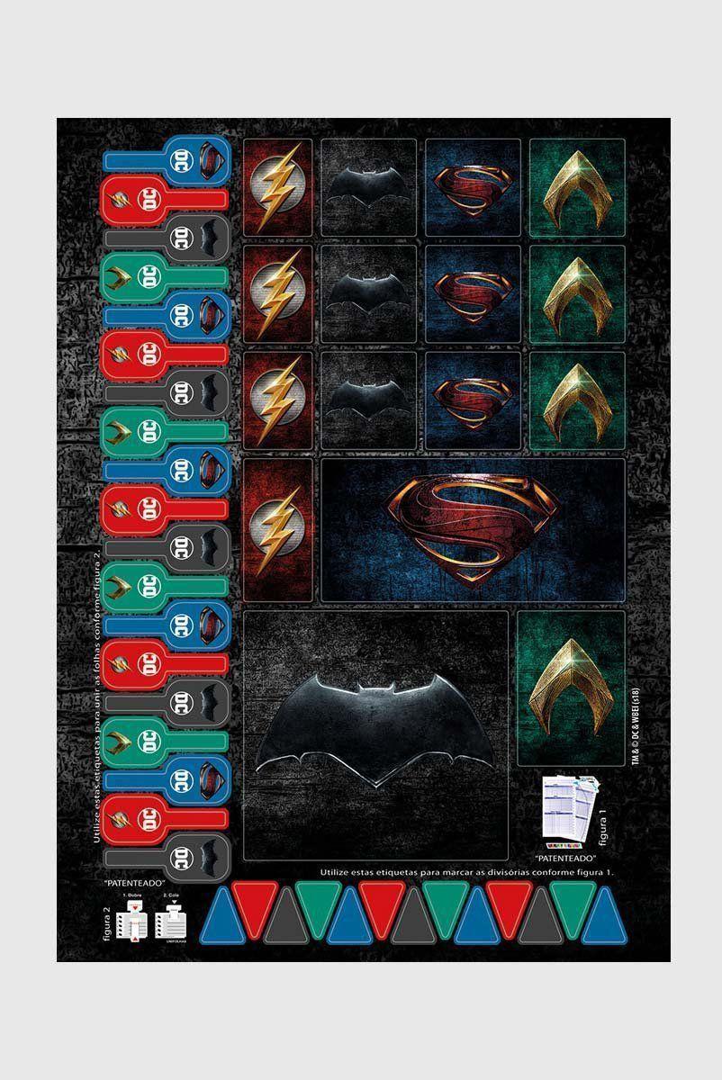 Caderno Aquaman Logo Movie 10 Matérias