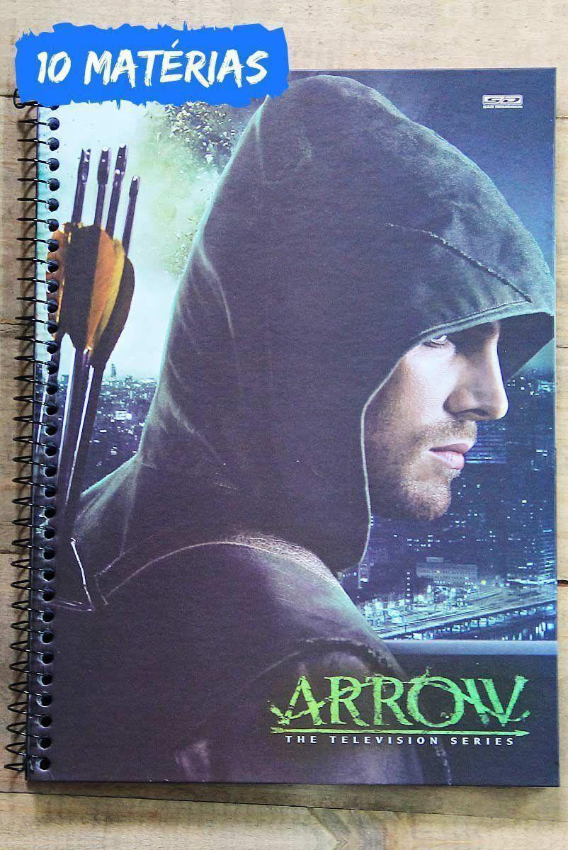Caderno Arrow Profile 10 Matérias