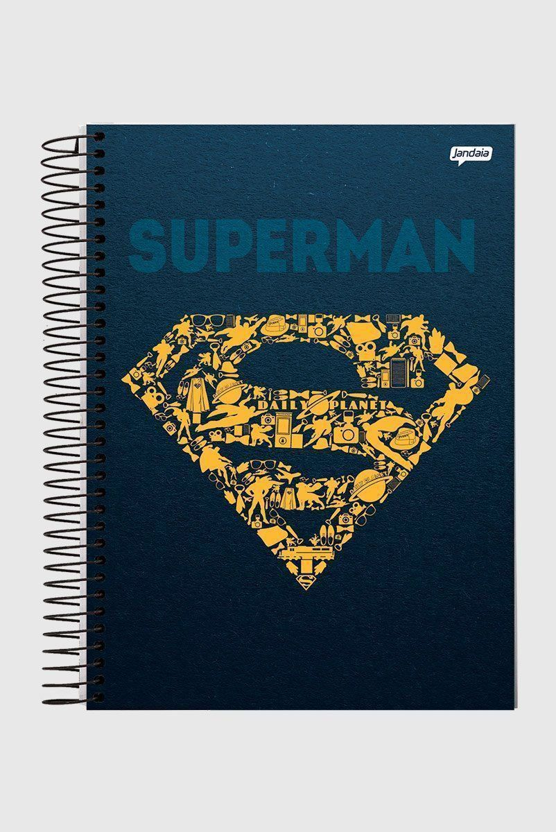 Caderno Superman Icons 1 Matéria