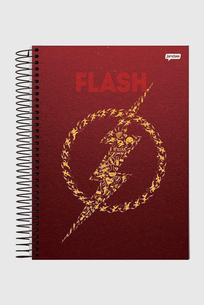 Caderno The Flash Icons 1 Matéria