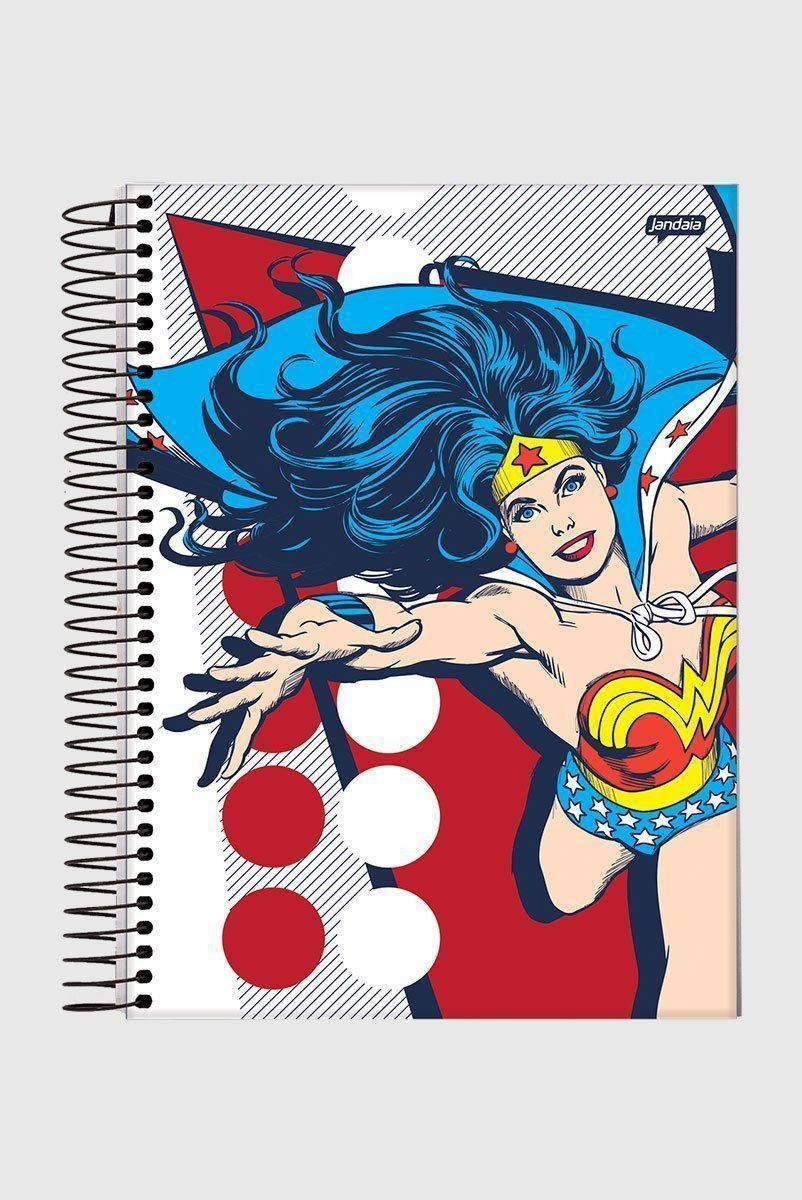 Caderno Wonder Woman Classic HQ Prince Action 1 Matéria