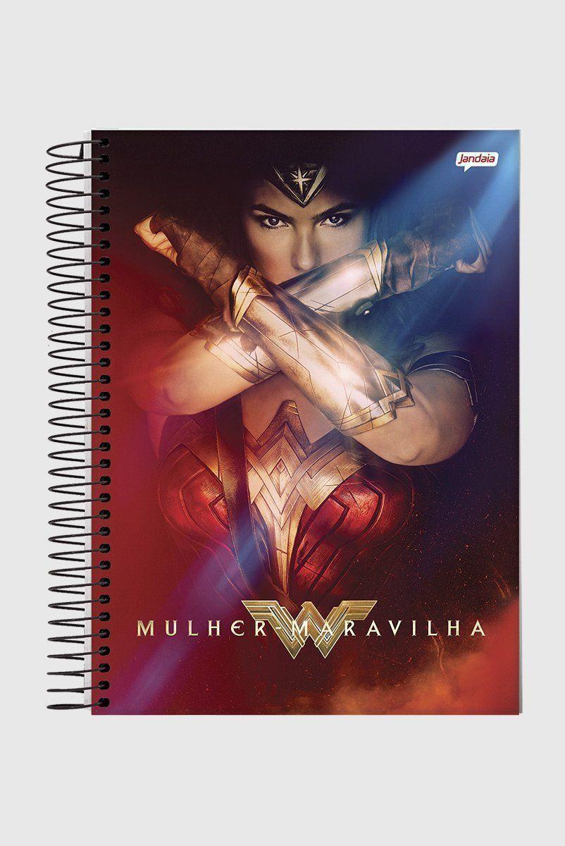 Caderno Wonder Woman Power 1 Matéria