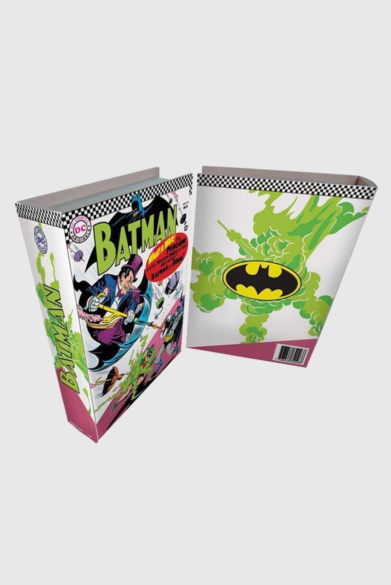 Caixa Livro de Madeira Batman What a War!