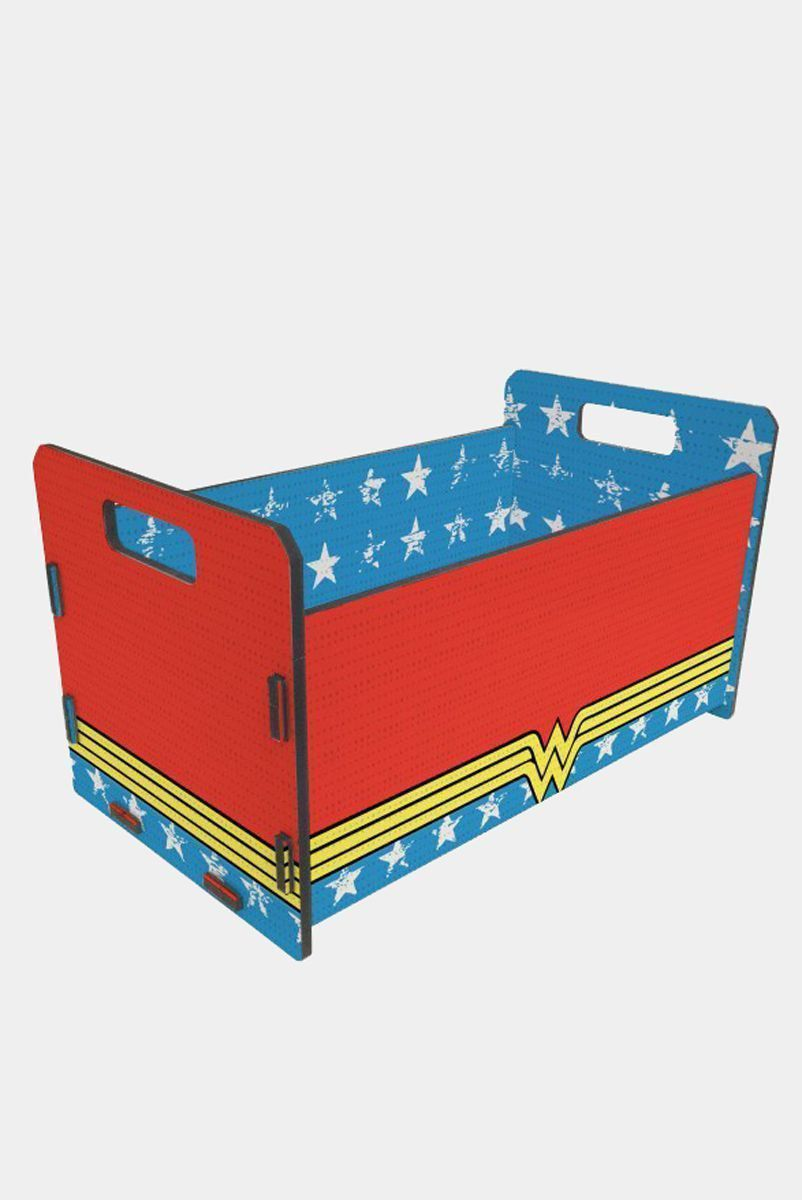 Caixote Organizador Wonder Woman Clothes