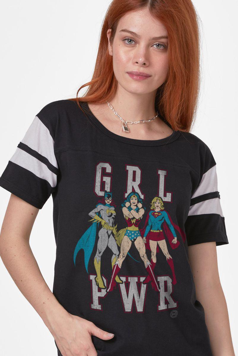 Camiseta Athletic Feminina GRL PWR