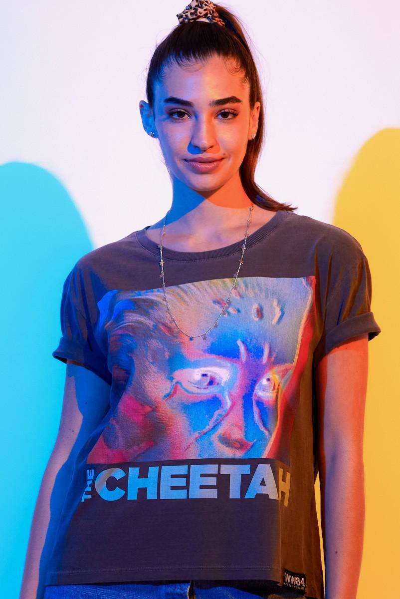 Camiseta Box Feminina Mulher Maravilha 1984 The !Cheetah