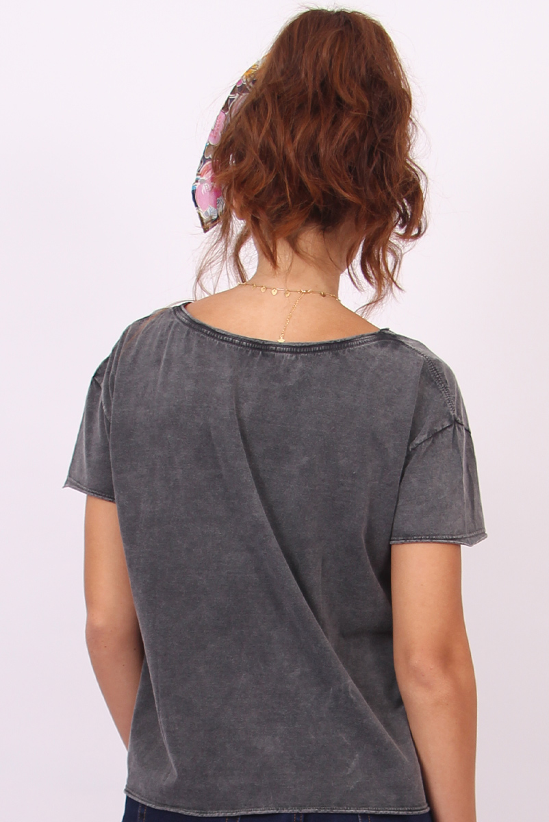 Camiseta Feminina Ampla Mulher Maravilha Mini Logos Pride