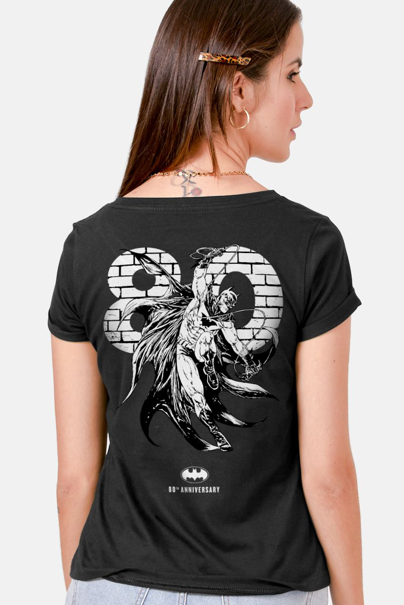 Camiseta Feminina Batman A Lenda