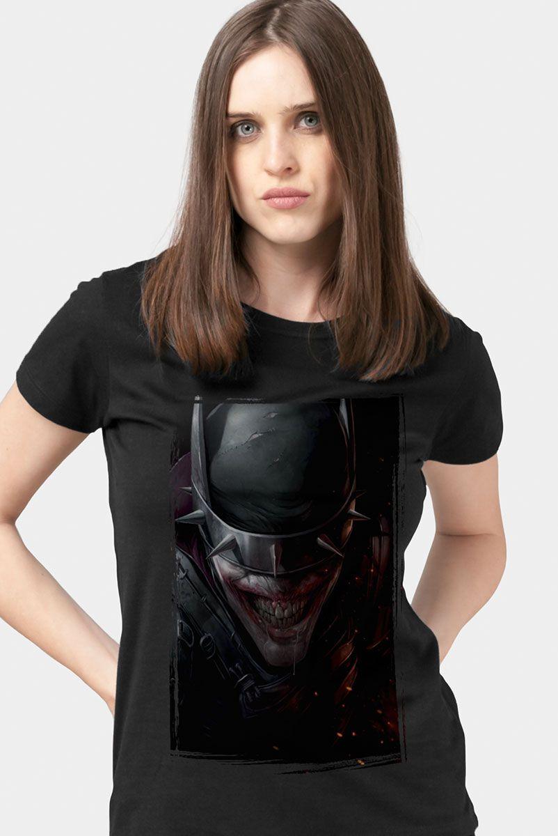 Camiseta Feminina Batman Que Ri