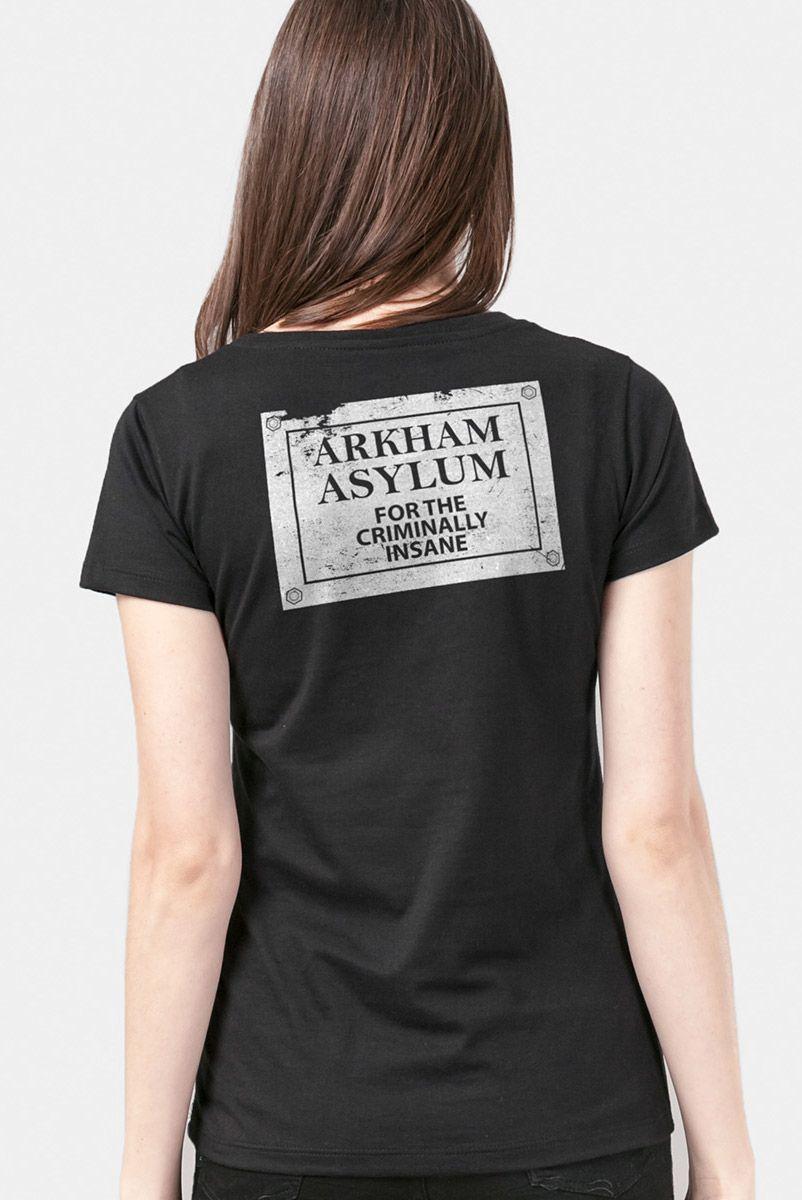 Camiseta Feminina Coringa Asilo Arkham