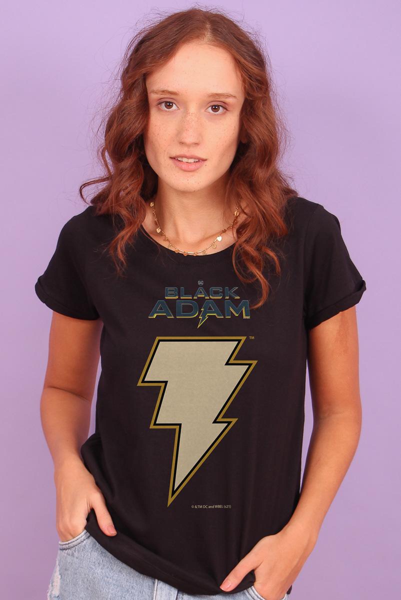 Camiseta Feminina FanDome 2021 Adão Negro