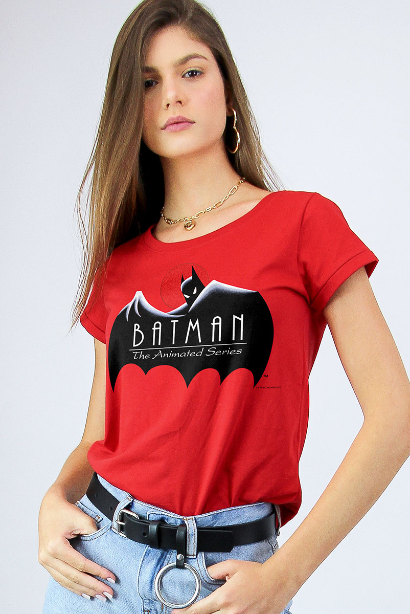 Camiseta Feminina FanDome 2021 Batman Animated Series