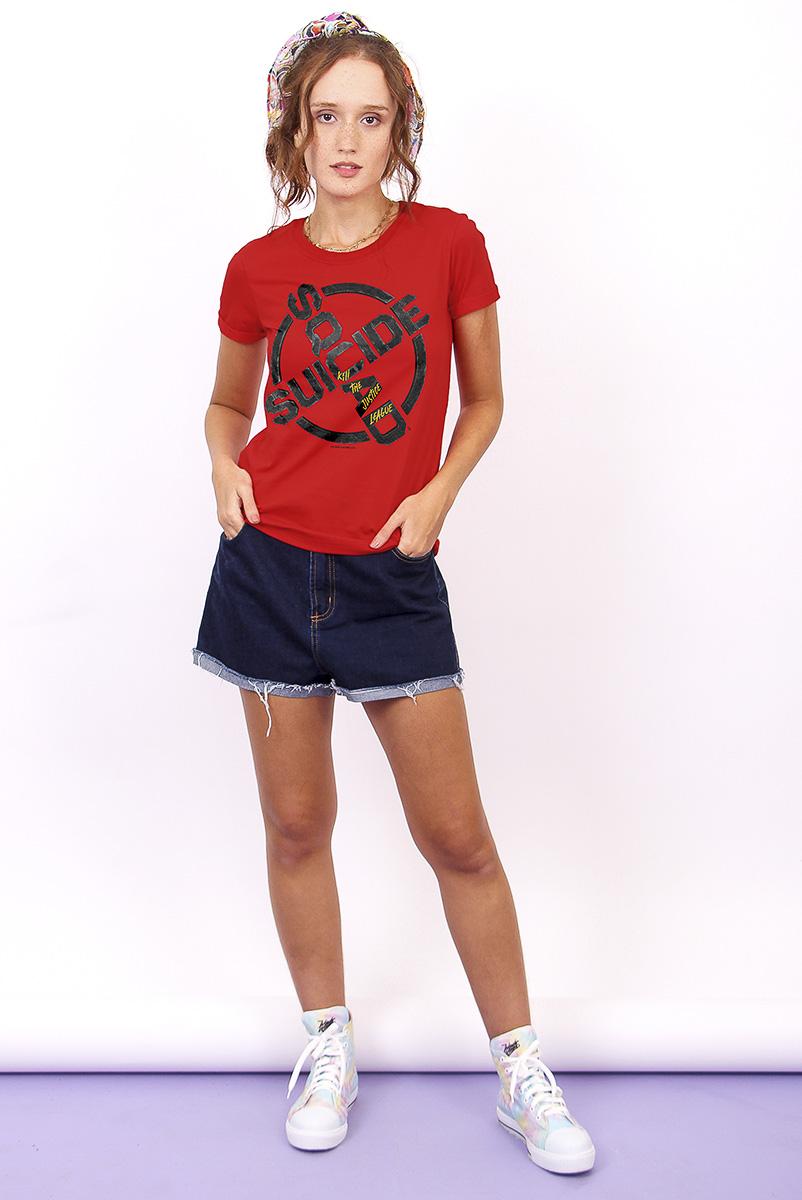 Camiseta Feminina FanDome 2021 Esquadrão Suicida