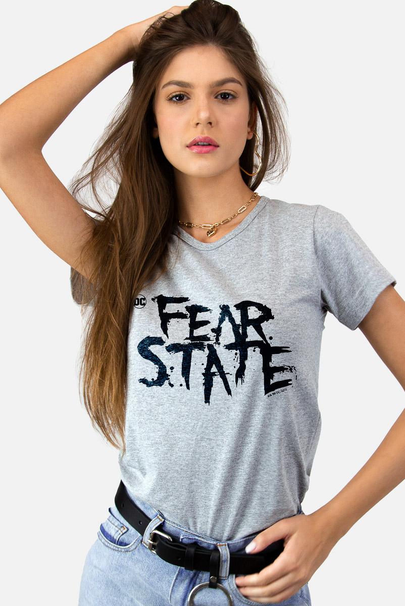 Camiseta Feminina FanDome 2021 Fear State
