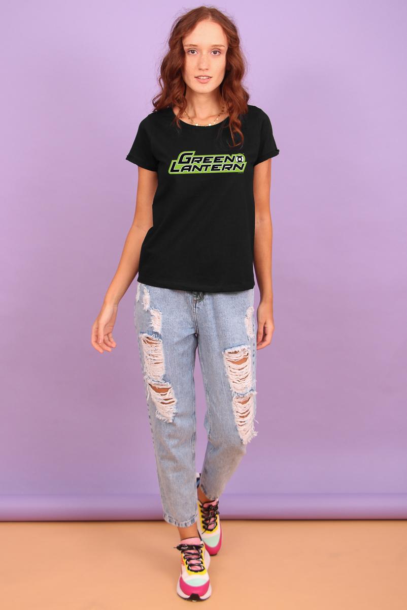 Camiseta Feminina FanDome 2021 Lanterna Verde