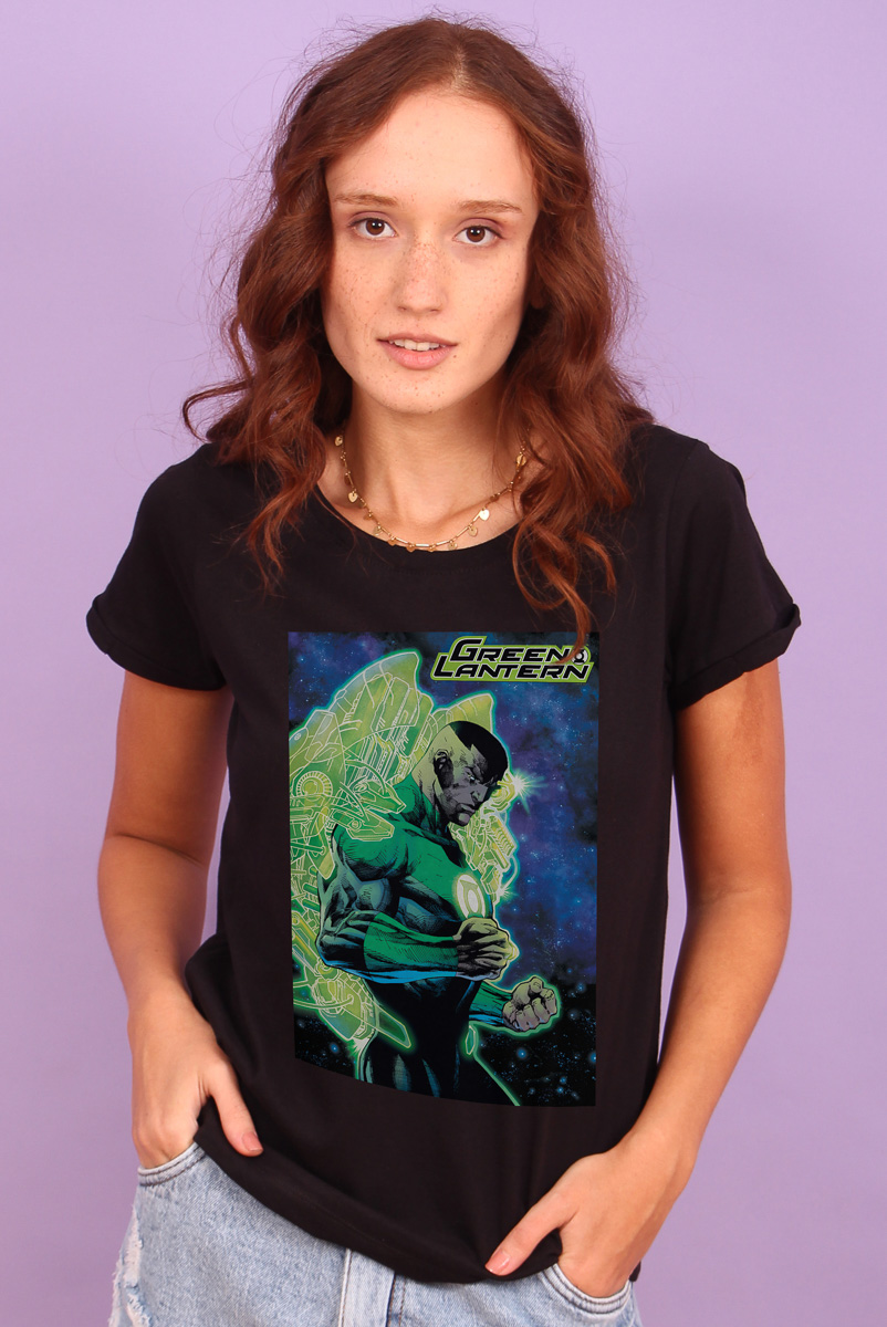 Camiseta Feminina FanDome 2021 Lanterna Verde Force