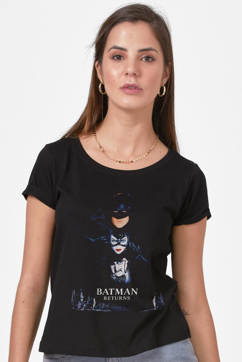 Camiseta Feminina FanDome 2021 Batman Returns