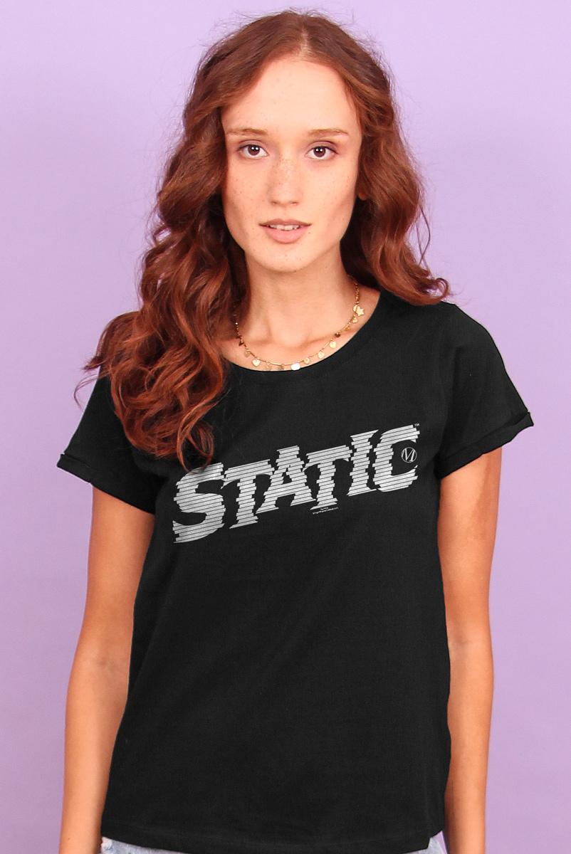 Camiseta Feminina FanDome 2021 Logo Super Choque