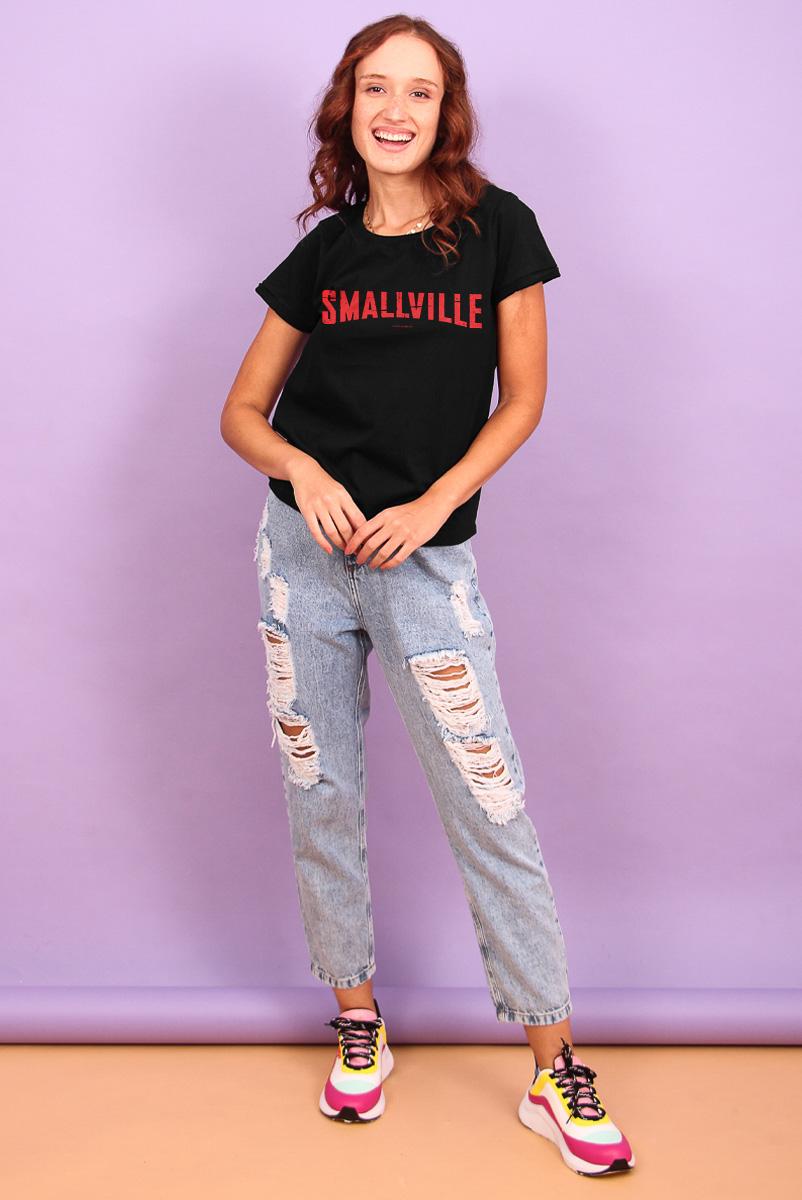 Camiseta Feminina FanDome 2021 Smallville