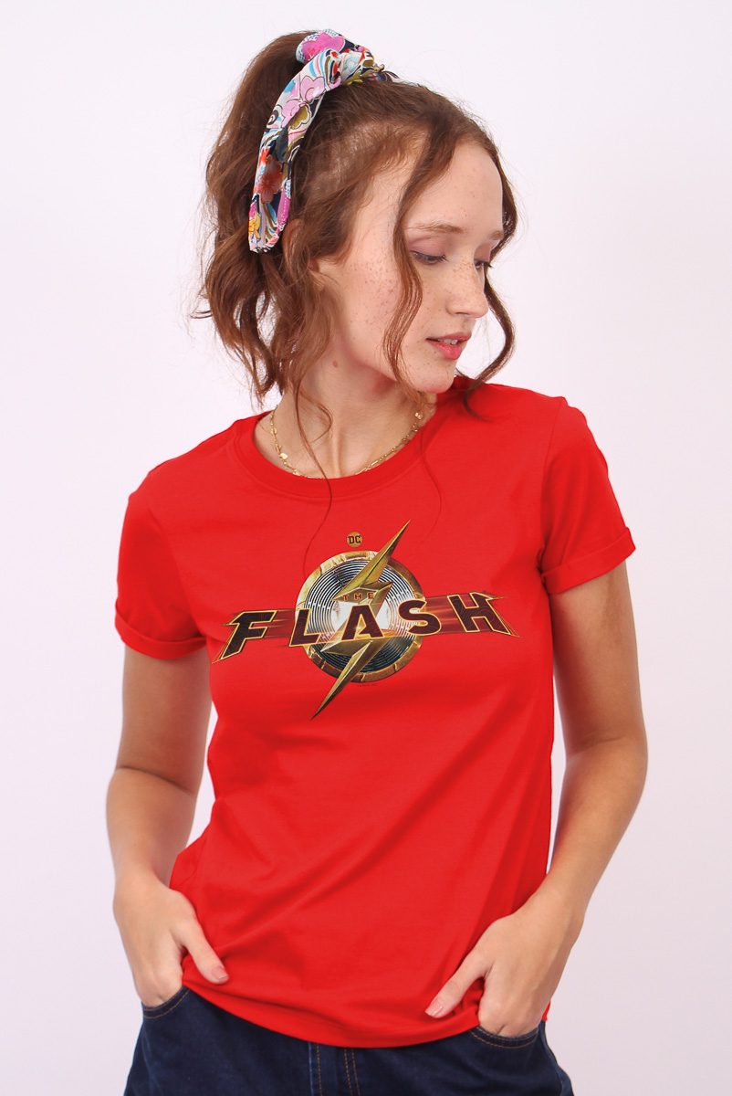 Camiseta Feminina FanDome 2021 The Flash Action