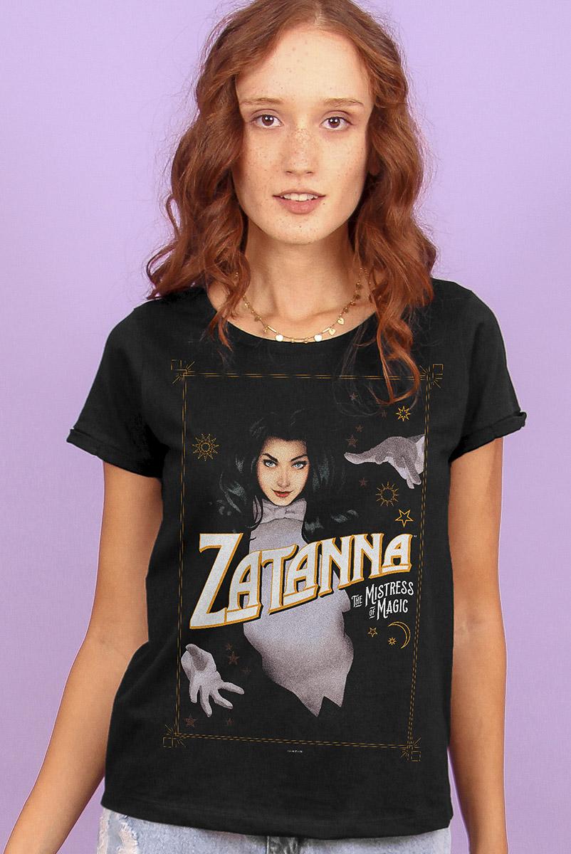 Camiseta Feminina FanDome 2021 Zatanna