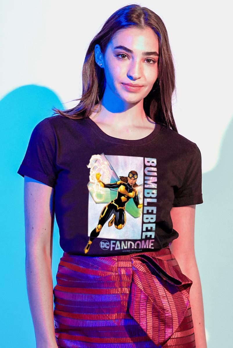 Camiseta Feminina Fandome Abelha