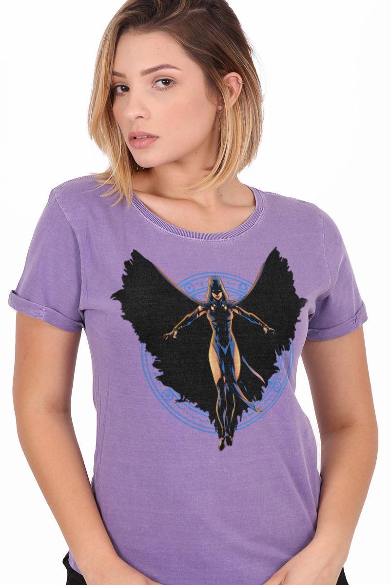 Camiseta Feminina Jovens Titãs Ravena