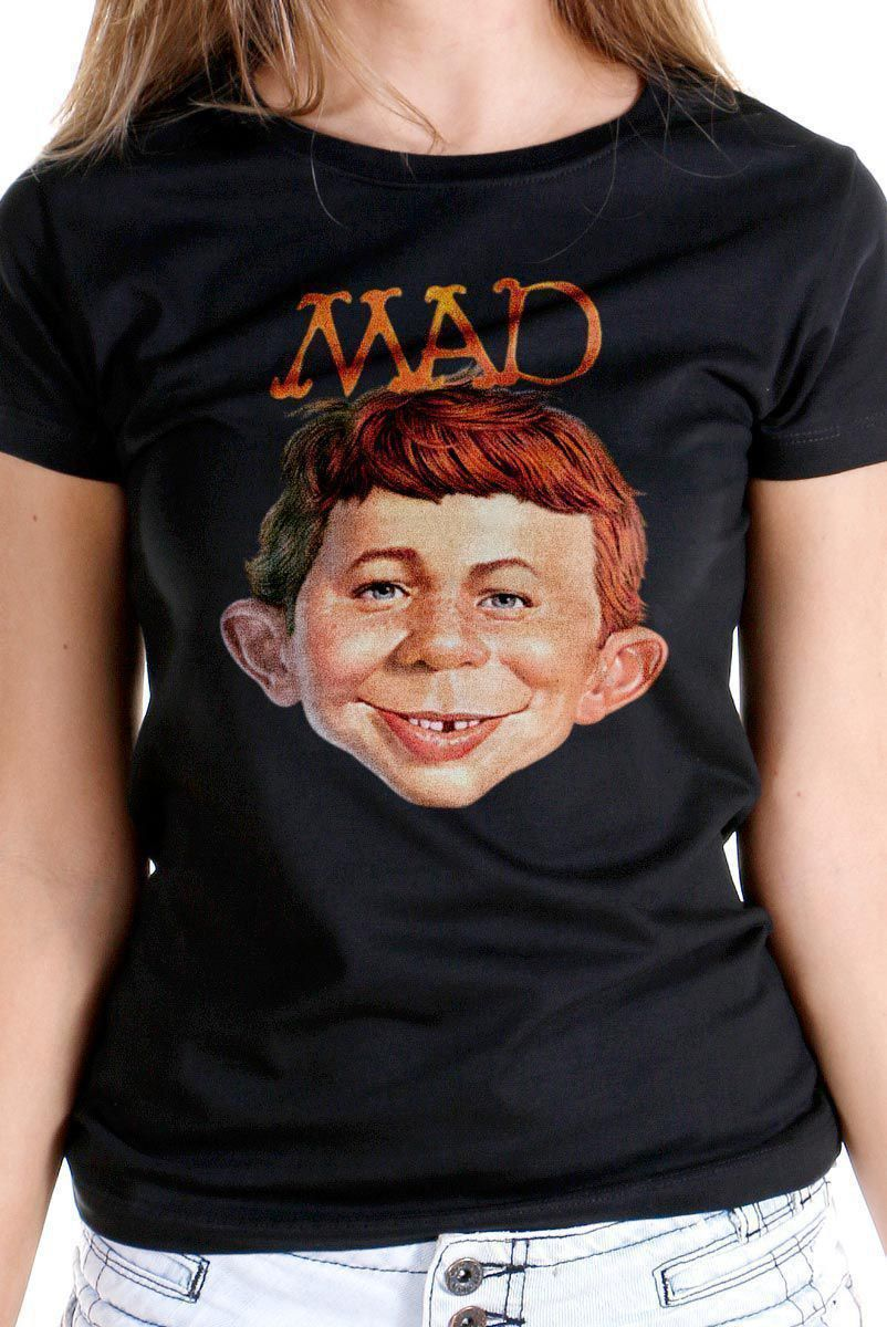 Camiseta Feminina MAD Face 2