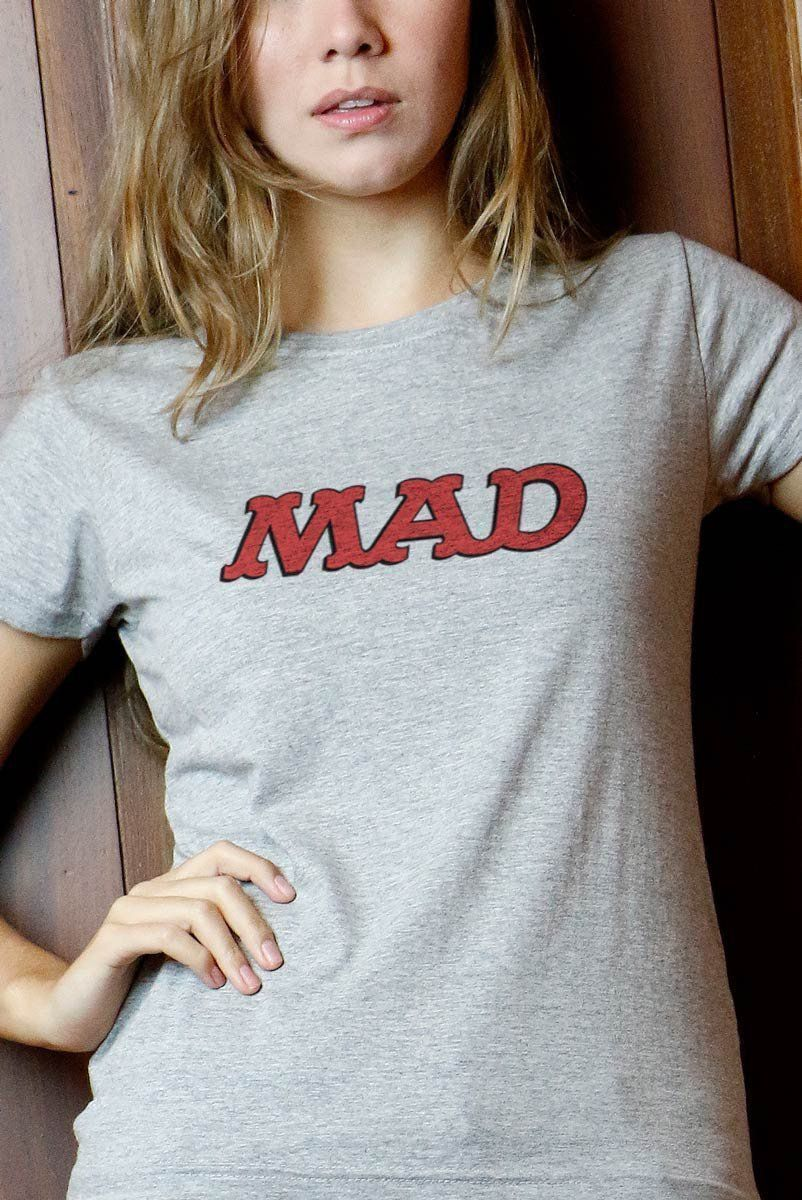 Camiseta Feminina MAD Logo