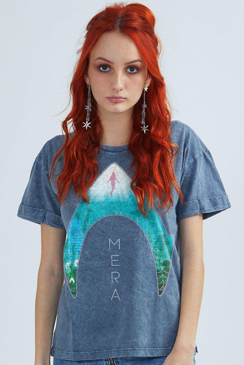 Camiseta Feminina Marmorizada Mera