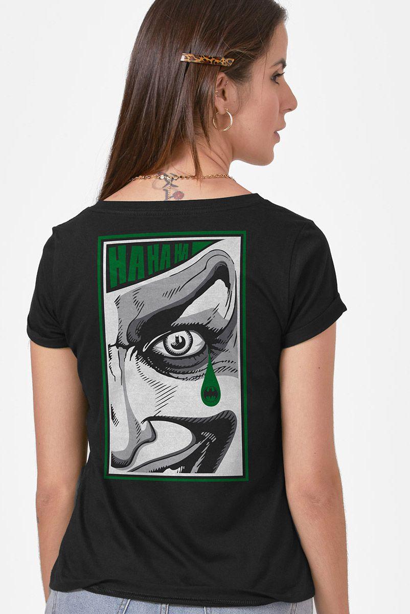Camiseta Feminina Meu Nome é Coringa