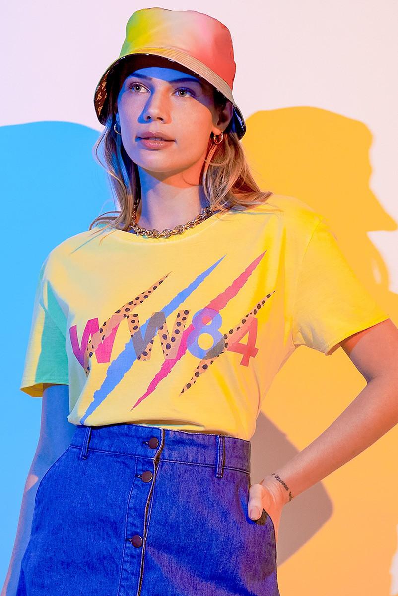 Camiseta Feminina Mulher Maravilha 1984 VS Cheetah Garras