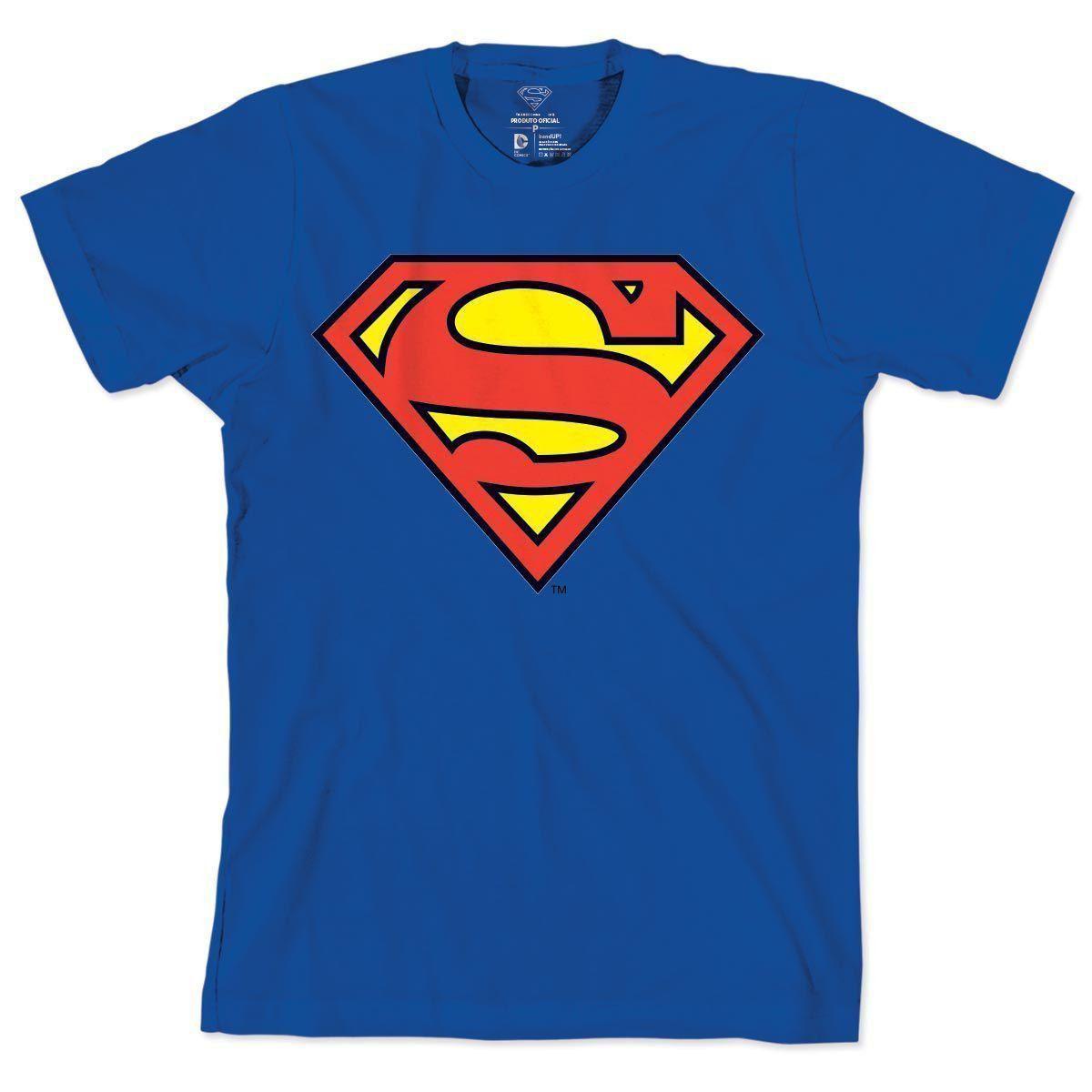Camiseta Feminina Supergirl - Logo Supergirl Oficial