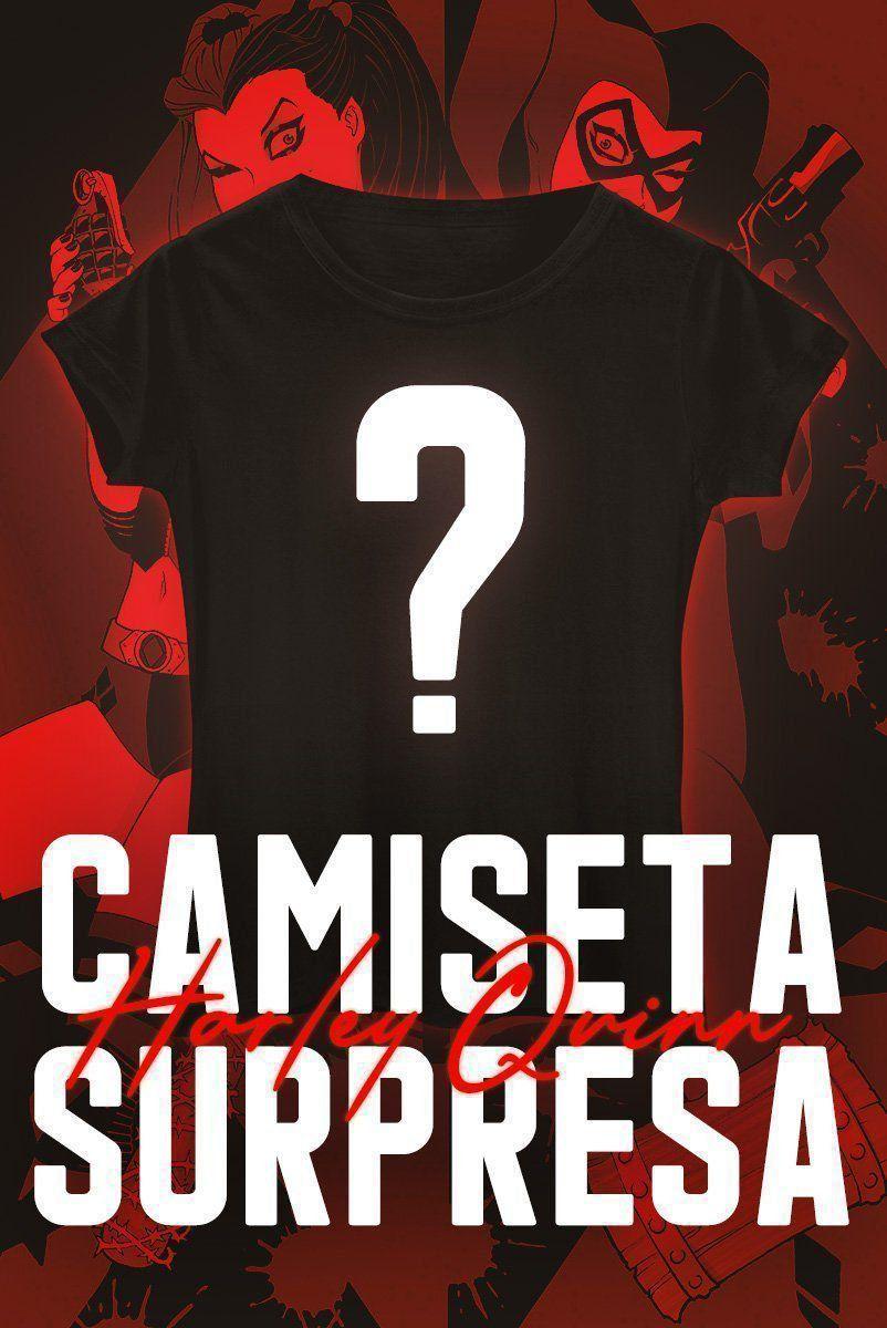 Camiseta Feminina SURPRESA Harley Quinn