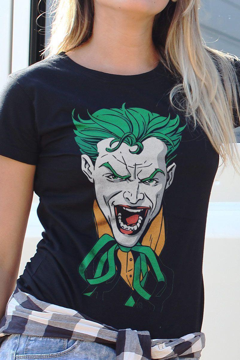 Camiseta Feminina Coringa 2