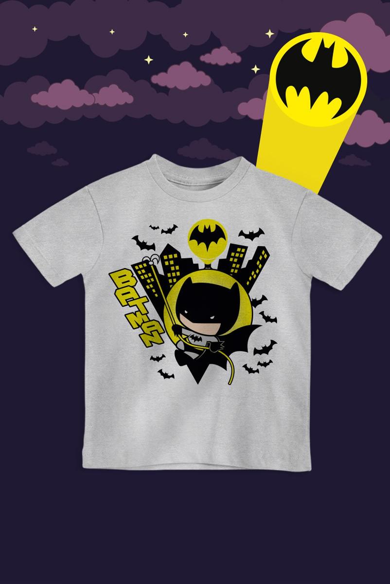 Camiseta Infantil Batman City