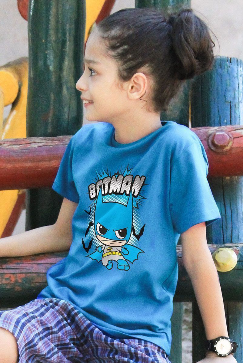 Camiseta Infantil Batman Kid