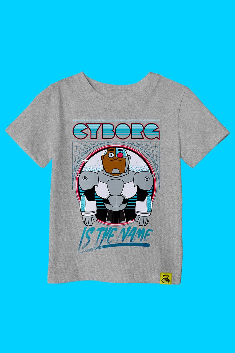 Camiseta Infantil Ciborgue Is The Name
