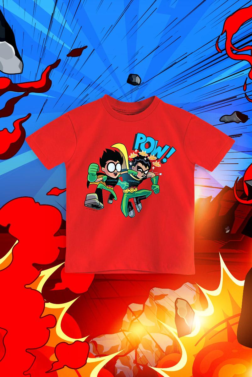 Camiseta Infantil FanDome 2021 Jovens Titãs