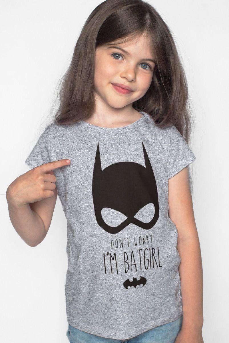 Camiseta Infantil I'm Batgirl