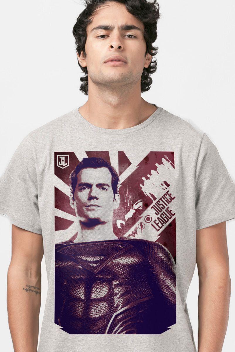 Camiseta Liga da Justiça Superman