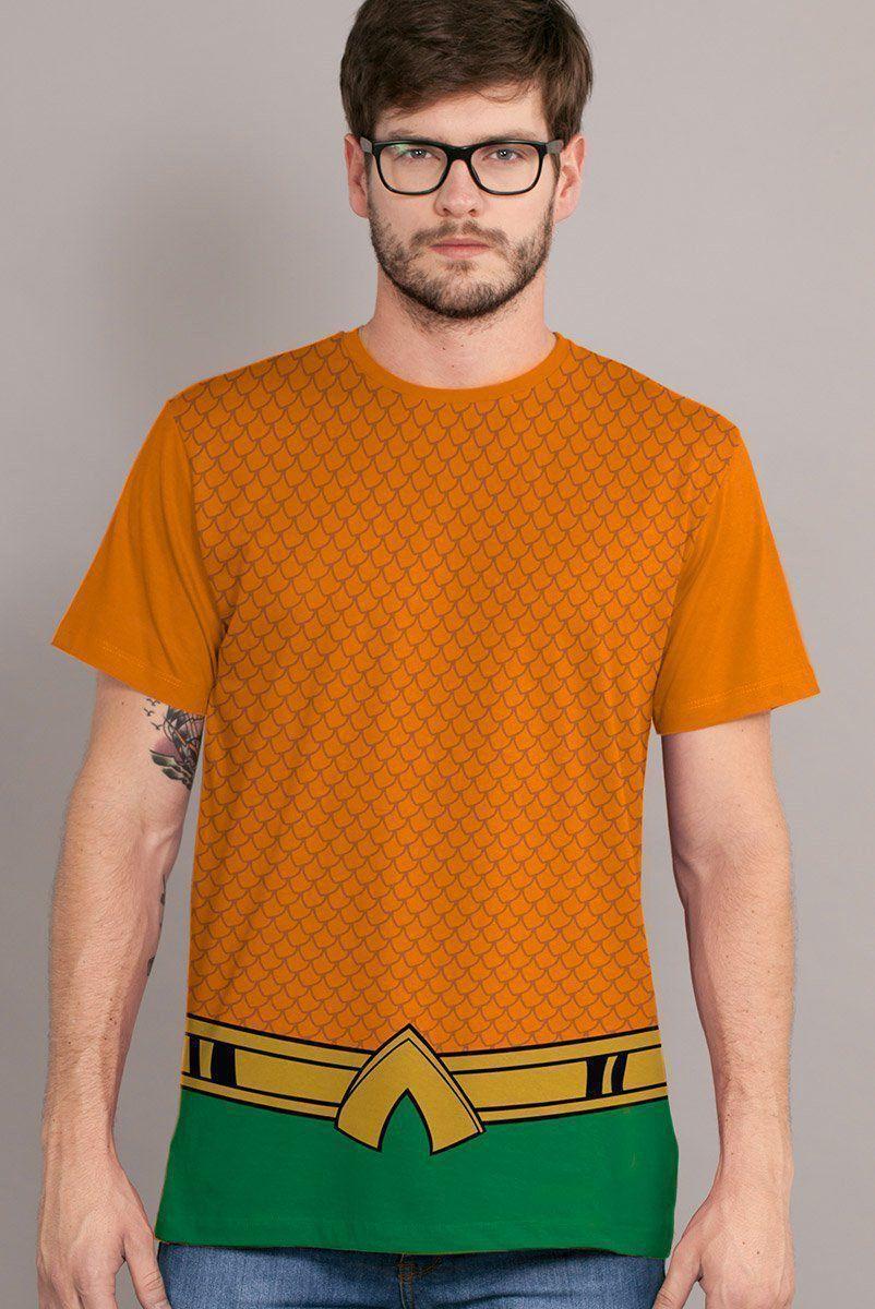 Camiseta Masculina Aquaman Classic