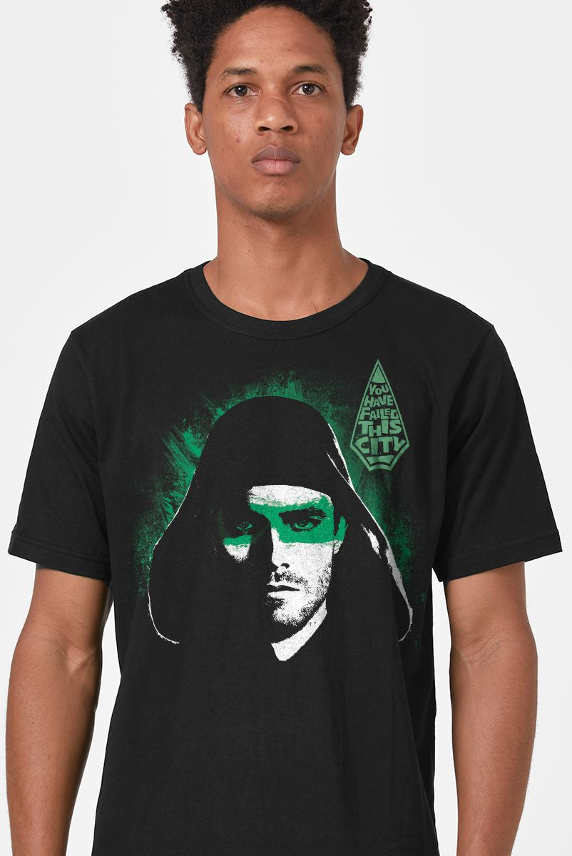 Camiseta Masculina Arrow You Have Failed This City