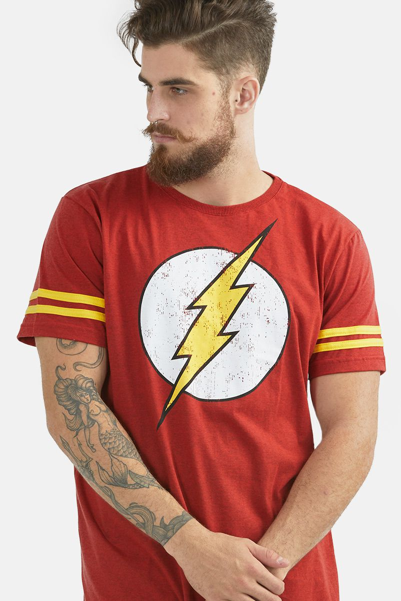 Camiseta Masculina Athletic The Flash Logo