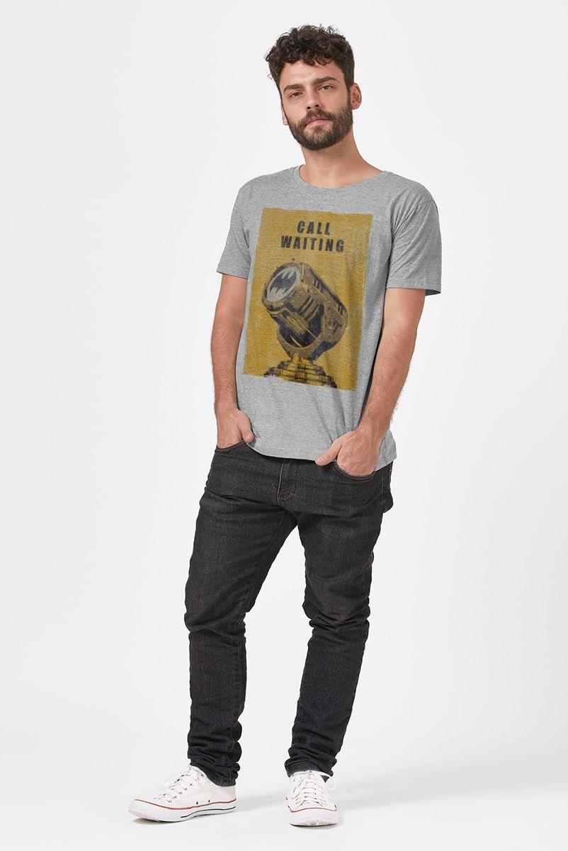 Camiseta Masculina Batman Chamada em Espera