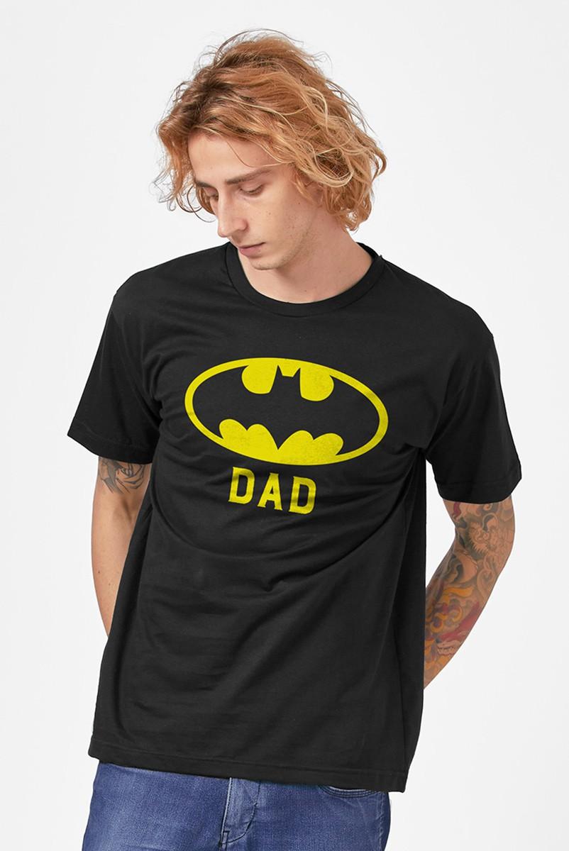 Camiseta Masculina Batman Dad