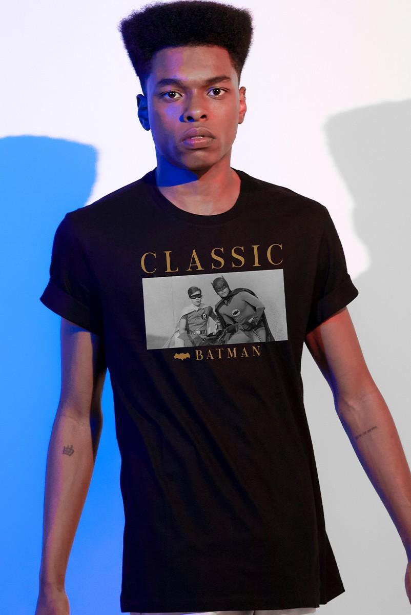 Camiseta Masculina Batman e Robin Classic