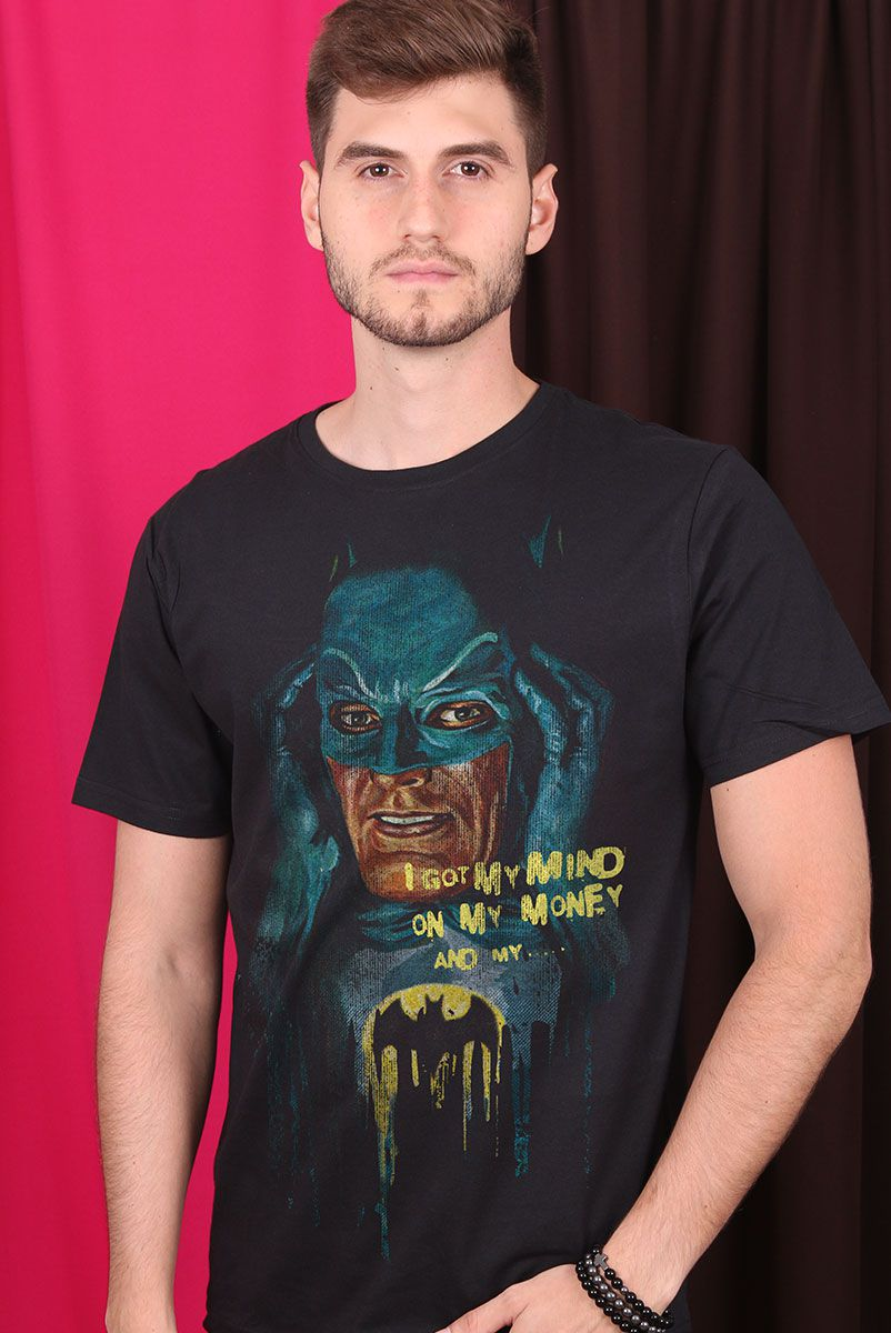 Camiseta Masculina Batman I Got My Mind
